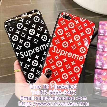LV SUPREME IPHONE XR XSケース カップル用